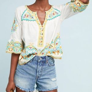 Anthropologie | Akemi & Kin Brisbee Top S